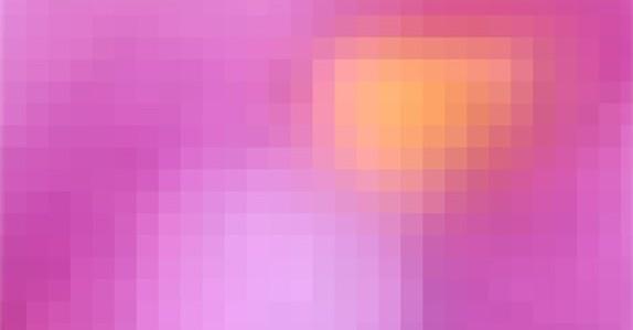 カラー画素を並べてカラー映像を再現