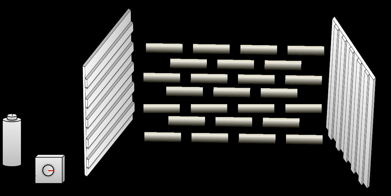 電気を通すと、配向膜の方向よりも電気の流れる方向に従うようになる